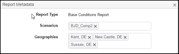 ReportsMetadata